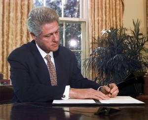 Repealing 13166 - When did clinton take office ...